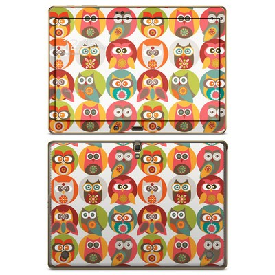 Samsung Galaxy Tab S 10.5in Skin - Owls Family