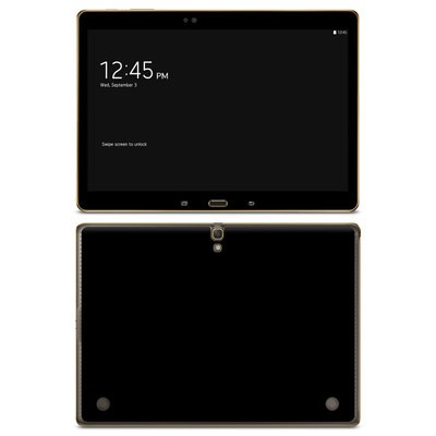 Samsung Galaxy Tab S 10.5in Skin - Solid State Black