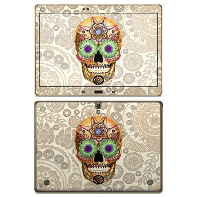 Samsung Galaxy Tab S 10.5in Skin - Sugar Skull Bone