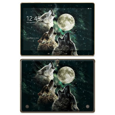 Samsung Galaxy Tab S 10.5in Skin - Three Wolf Moon