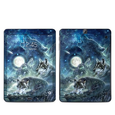 Samsung Galaxy Tab S2 9-7 Skin - Bark At The Moon