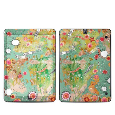 Samsung Galaxy Tab S2 9-7 Skin - Feathers Flowers Showers