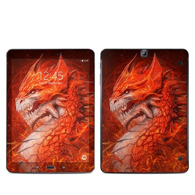 Samsung Galaxy Tab S2 9-7 Skin - Flame Dragon