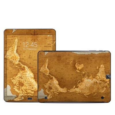 Samsung Galaxy Tab S2 9-7 Skin - Upside Down Map