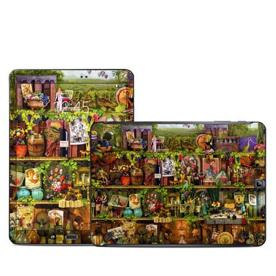 Samsung Galaxy Tab S2 9-7 Skin - Wine Shelf
