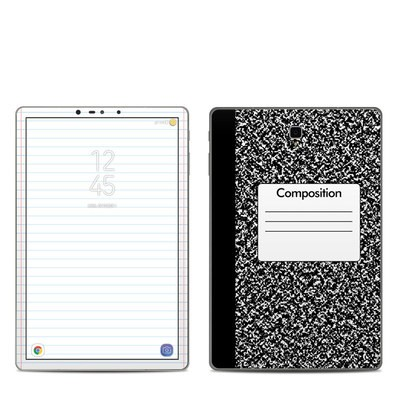 Samsung Galaxy Tab S4 Skin - Composition Notebook
