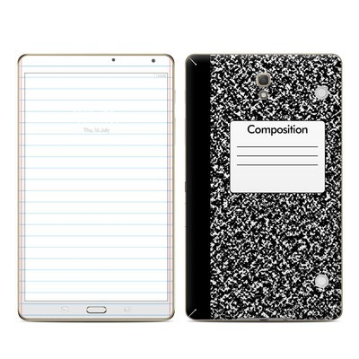 Samsung Galaxy Tab S 8.4in Skin - Composition Notebook