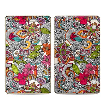 Samsung Galaxy Tab S 8.4in Skin - Doodles Color