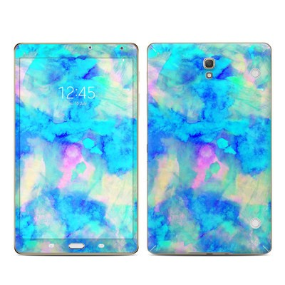 Samsung Galaxy Tab S 8.4in Skin - Electrify Ice Blue