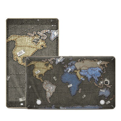 Samsung Galaxy Tab S 8.4in Skin - Jean Map
