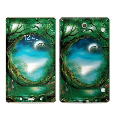 Samsung Galaxy Tab S 8.4in Skin - Moon Tree