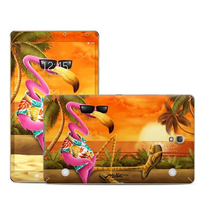 Samsung Galaxy Tab S 8.4in Skin - Sunset Flamingo