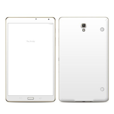 Samsung Galaxy Tab S 8.4in Skin - Solid State White