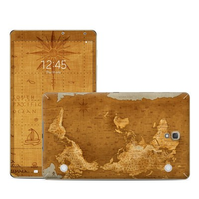 Samsung Galaxy Tab S 8.4in Skin - Upside Down Map