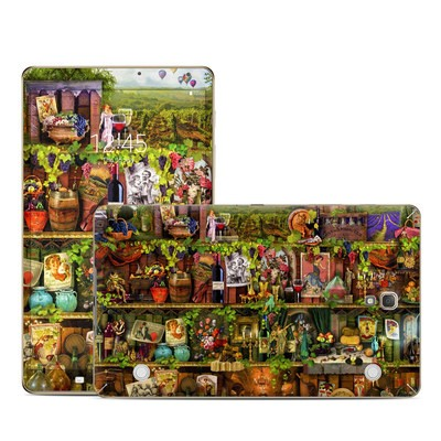 Samsung Galaxy Tab S 8.4in Skin - Wine Shelf