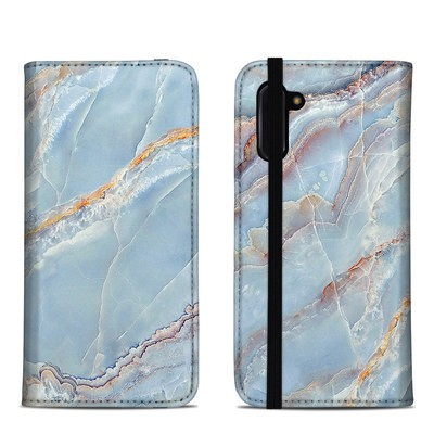 Samsung Galaxy Note 10 Folio Case - Atlantic Marble