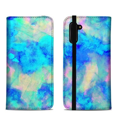 Samsung Galaxy Note 10 Folio Case - Electrify Ice Blue