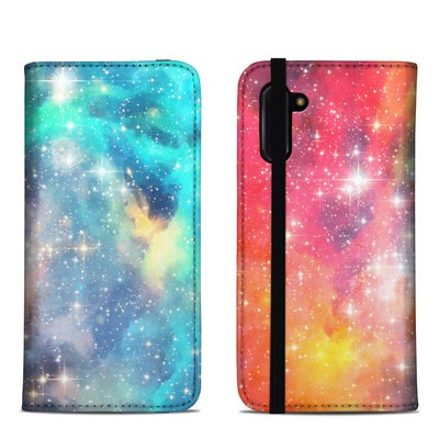 Samsung Galaxy Note 10 Folio Case - Galactic