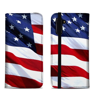 Samsung Galaxy Note 10 Folio Case - Patriotic