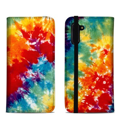 Samsung Galaxy Note 10 Folio Case - Tie Dyed