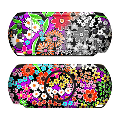 Sony PSP Street Skin - A Burst of Color