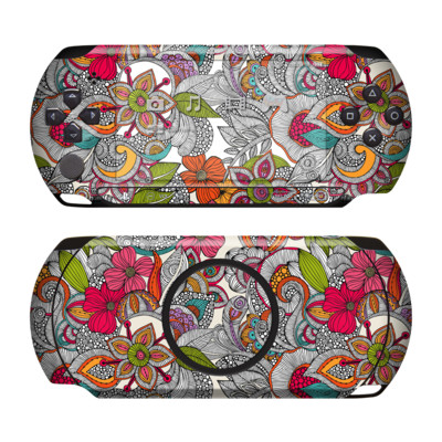 Sony PSP Street Skin - Doodles Color