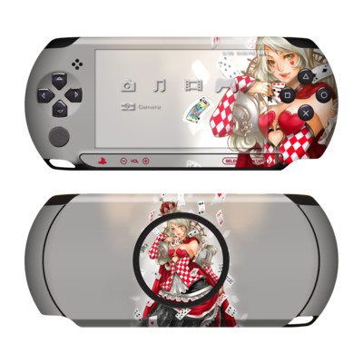 Sony PSP Street Skin - Queen Of Cards