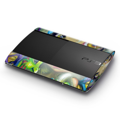 Sony Playstation 3 Super Slim Skin - Dragonling