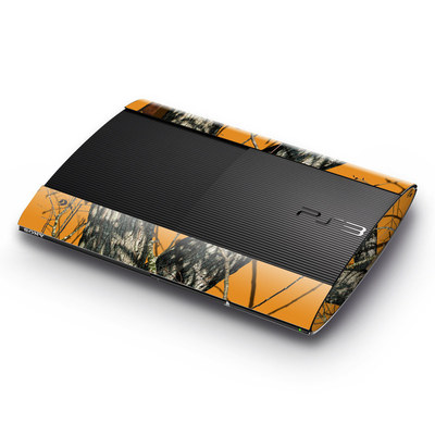 Sony Playstation 3 Super Slim Skin - Blaze