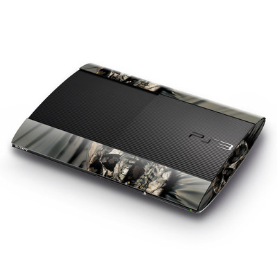 Sony Playstation 3 Super Slim Skin - Skull Wrap