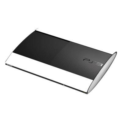 Sony Playstation 3 Super Slim Skin - Solid State White
