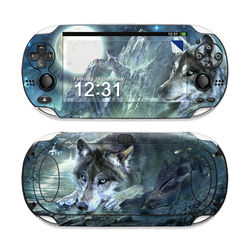 Sony PS Vita Skin - Bark At The Moon