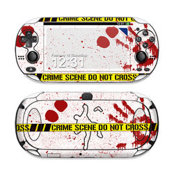 Sony PS Vita Skin - Crime Scene Revisited