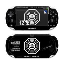 Sony PS Vita Skin - Dharma Black