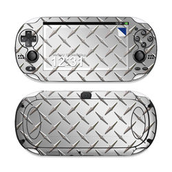 Sony PS Vita Skin - Diamond Plate