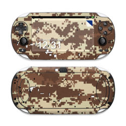 Sony PS Vita Skin - Digital Desert Camo