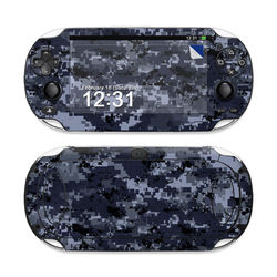 Sony PS Vita Skin - Digital Navy Camo