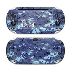 Sony PS Vita Skin - Digital Sky Camo