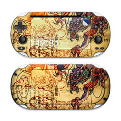Sony PS Vita Skin - Dragon Legend