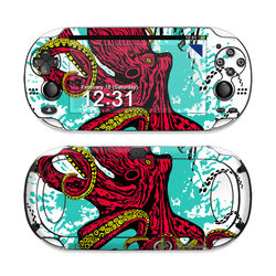 Sony PS Vita Skin - Octopus