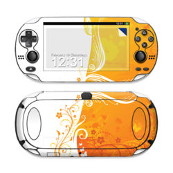 Sony PS Vita Skin - Orange Crush