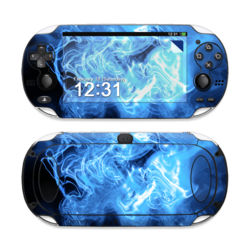 Sony PS Vita Skin - Blue Quantum Waves