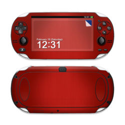 Sony PS Vita Skin - Red Burst