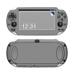 Sony PS Vita Skin - Solid State Grey