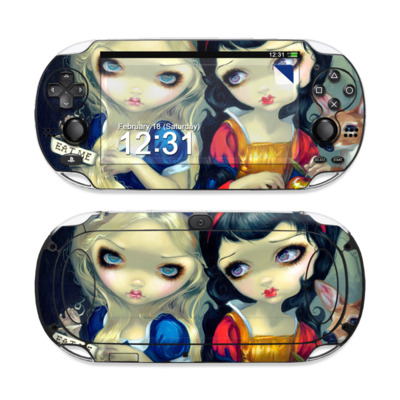 Sony PS Vita Skin - Alice & Snow White
