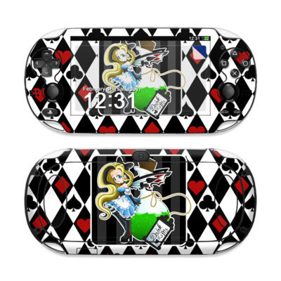 Sony PS Vita Skin - Alice