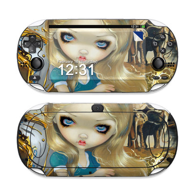 Sony PS Vita Skin - Alice in a Dali Dream