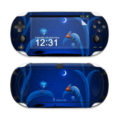Sony PS Vita Skin - Alien and Chameleon