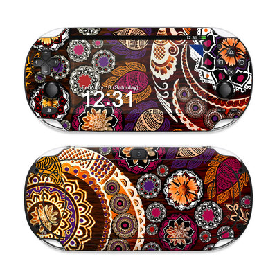 Sony PS Vita Skin - Autumn Mehndi