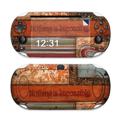 Sony PS Vita Skin - Be Inspired